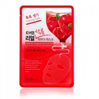 Маска для укрепления кожи Mediheal — Overlab Red Pomegranate Real Powder Mask тканевая