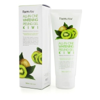 Пилинг гель FarmStay Snail All-In-One Whitening Peeling Gel Cream Kiwi с экстрактом улитки и киви