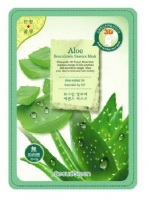 Тканевая 3D маска для лица BeauuGreen 3D Essence mask с экстрактом алоэ вера